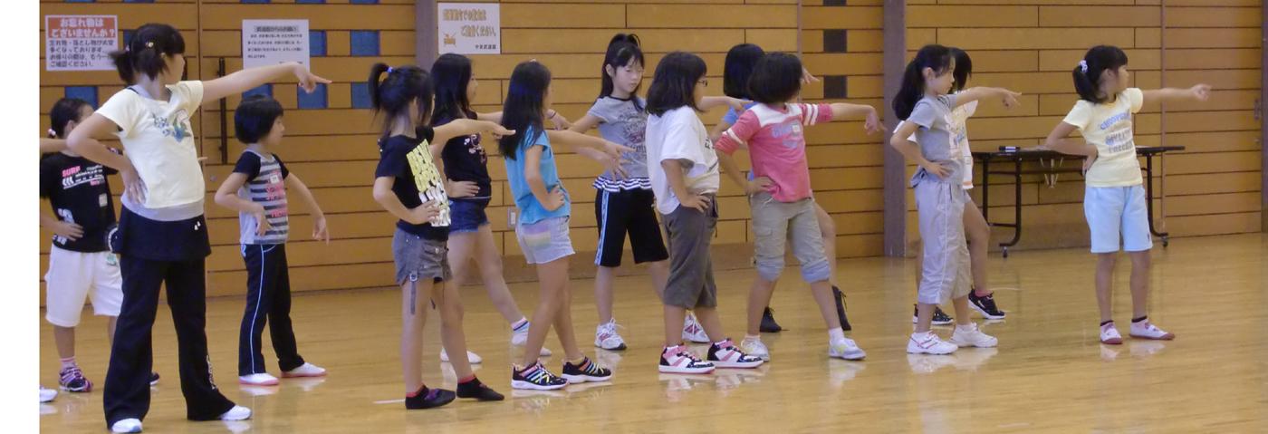 キッズジャズダンスクラス