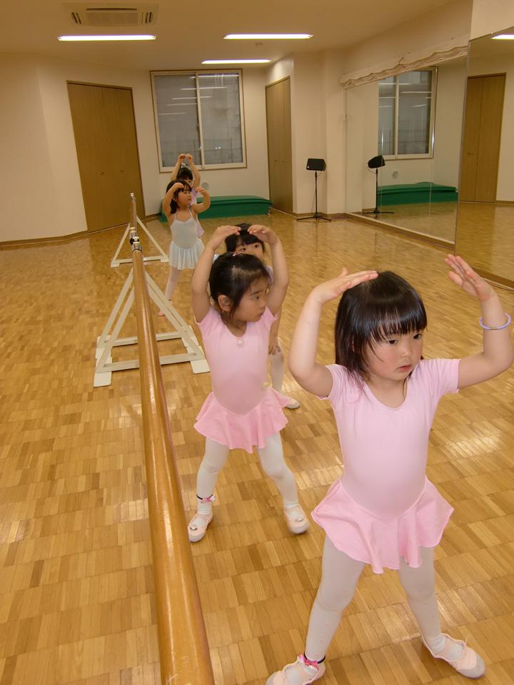 キッズバレエ(幼児)クラス