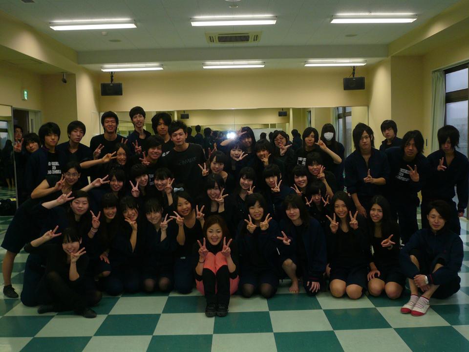 日本芸術高等学園 テーマパークダンス YO-KOレッスン | フレックス ...